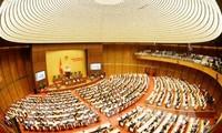 越南国会通过关于批准2017年国家财政预算决算和2020年法律法令建设计划的决议
