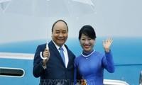 阮春福抵达大阪  开始出席G20峰会行程