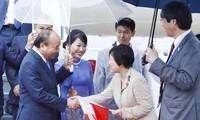 阮春福就出席G20峰会和访问日本接受日本媒体的采访
