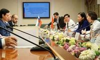 监督越俄签署的各项国际公约的实施情况