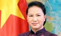 阮氏金银对中国进行正式访问