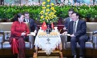中国江苏省希望与越南开展合作