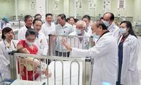 阮春福:中央儿童医院要成为儿童看治病的一流医院
