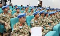 越南为联合国维和行动做出贡献