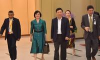 东盟各国外长会见东盟政府间人权委员会代表