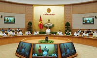 越南政府7月份工作例会在河内召开