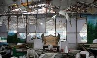 阿富汗总统谴责喀布尔自杀式炸弹袭击