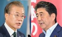 日本与韩国同意继续对话