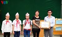 Liga Pemuda Komunis Ho Chi Minh VOV berkunjung di  propinsi Ha Giang