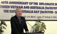 Peringatan ultah ke-40 penggalangan hubungan diplomatik Vietnam – Australia