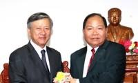 Memperkuat kerjasama antara semua daerah Vietnam – Laos