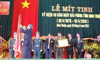 Aktivitas-aktivitas memperingati ultah ke-40 pembebasan Vietnam Selatan dan penyatuan Tanah Air