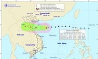 La tempête Son Tinh frappe les provinces de Thanh Hoa à Quang Binh