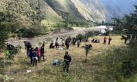 Pérou: 35 touristes blessés dans une collision de trains près du Machu Picchu