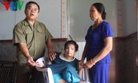 Adoucir les souffrances des victimes de l'agent orange