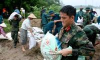 Les localités du Vietnam appelées à faire face à l'arrivée du typhon Bebinca