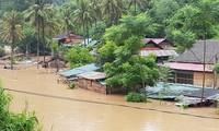 Vietnam: Inondations après le passage du typhon Bebinca