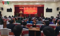 Clôture de l'atelier de formation pour les plus hauts dirigeants du Parti