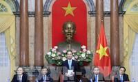 Réseau d'innovation vietnamien : des élites reçues par Trân Dai Quang