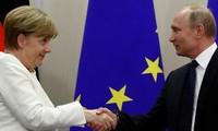 Merkel souhaite avoir de «bonnes relations avec la Russie»