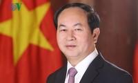 Le président Trân Dai Quang part pour l'Éthiopie et l'Égypte