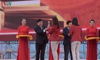 ASIAD 18: rencontre avec les sportifs de retour au Vietnam