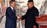 Moon Jae-in appelle à «mettre fin aux hostilités» entre les deux Corées