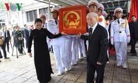 Cérémonie d'hommage au président Trân Dai Quang