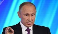 Syrie : Poutine pour le retrait à terme de toutes les troupes étrangères