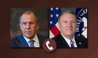 Lavrov et Pompeo discutent par téléphone du prochain sommet bilatéral