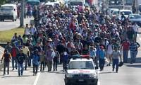 2.000 migrants en route vers les Etats-Unis. Trump veut déployer 15.000 soldats à la frontière