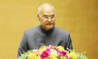 Le président indien termine sa visite au Vietnam