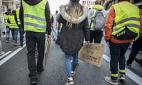 «Gilets jaunes» à Bruxelles: Première manifestation émaillée d'incidents dans la capitale