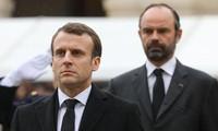 «Gilets jaunes»: Macron appelle l'opposition à la responsabilité