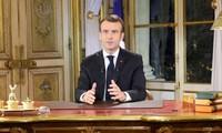 Allocution d'Emmanuel Macron pour sortir de la crise des «gilets jaunes»