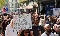 Rassemblement anti-islamophobie à Melbourne
