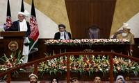 Le président afghan appelle les nouveaux législateurs à participer au processus de paix