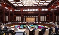 Nguyên Xuân Phuc à la table ronde des dirigeants