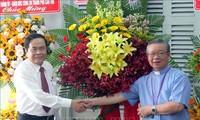 Trân Thanh Mân à la rencontre des électeurs à Cân Tho