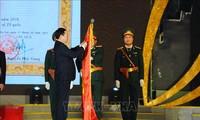 Nghi Lôc reçoit l'Ordre du Travail