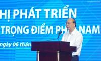 Conférence sur le développement de la zone économique de pointe du Sud