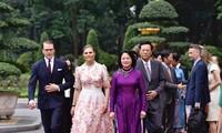 La princesse héritière de Suède en visite au Vietnam