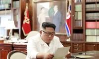 Kim Jong Un dit avoir reçu une lettre de Donald Trump très satisfaisante