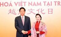 Nguyên Thi Kim Ngân à un spectacle célébrant l'amitié sino-vietnamienne à Pékin