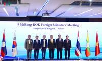 Pham Binh Minh aux réunions Mékong-République de Corée et Mékong-Japon