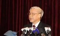 KPV-Generalsekretär Trong trifft Senatspräsidenten von Chile