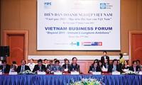 Das vietnamesische Unternehmensforum ist in Hanoi eröffnet worden