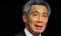 Singapurs Premierminister Lee Hsien Loong beginnt seinen Vietnam-Besuch