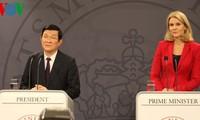 Vietnam und Dänemark nehmen umfassende Partnerschaft auf
