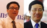 Premierminister Dung stellt Kandidaten für neue Vize-Premierminister vor